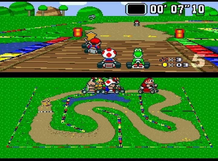super mario kart 720x534 - 10 games retrô para jogar no navegador