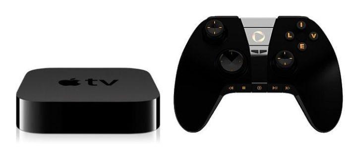 apple tv with game controller 720x317 - Rumor: Nova Apple TV será um console de videogame