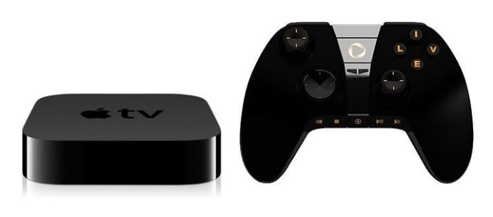 apple tv with game controller 720x317 - Rumor: Nova Apple TV será um console de videogame