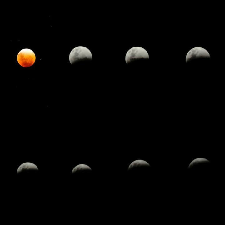 eclipse total superlua brasil 720x720 - Veja as fotos do eclipse total da superlua ao redor do mundo