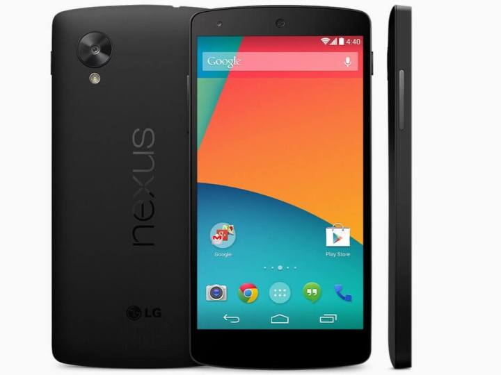 google nexus 5 1st official 720x540 - A história dos smartphones Nexus
