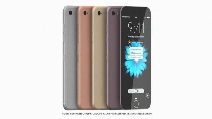 iphone 7 concept 720x405 - Rumor: Apple está trabalhando em iPhone 7 super fino
