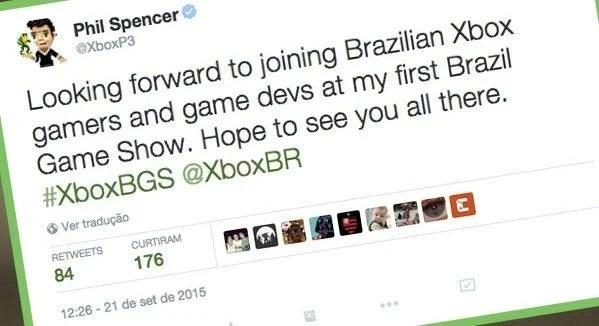 phil spencer e1442965756396 - Brasil Game Show vem aí