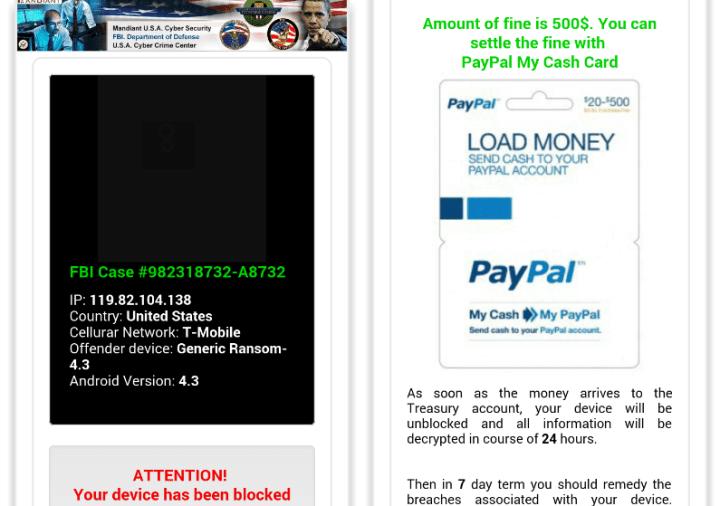 ramsomware android 720x506 - App pornô tira foto de usuários e cobra US$ 500 para desbloquear dispositivo