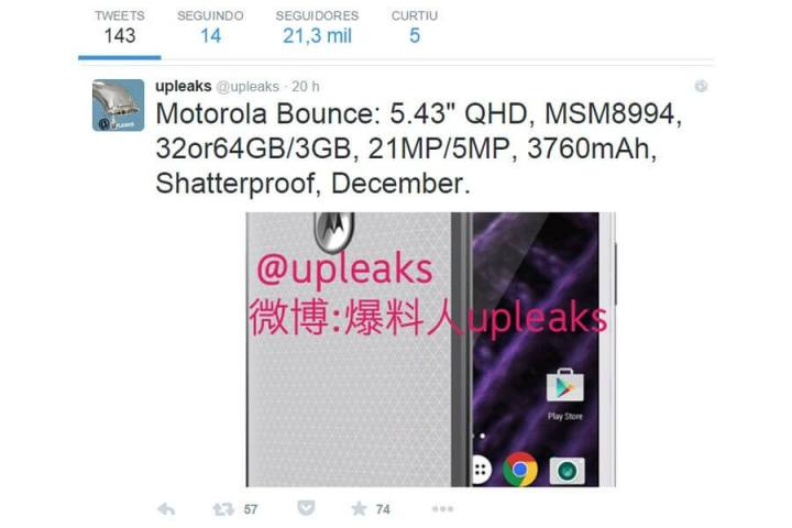"smt bounce tweet 720x480 - Rumor indica que Motorola está desenvolvendo o Bounce, o celular ""inquebrável"""