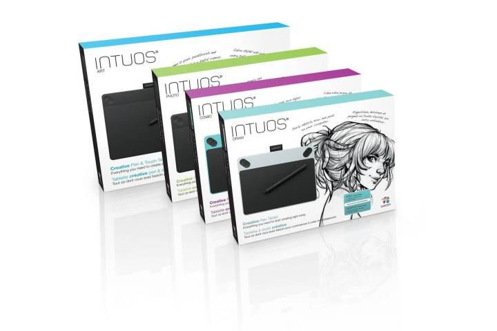 smt intuos lineup 720x480 - Dando mesas à criatividade: Wacom anuncia 4 novos modelos da linha Intuos