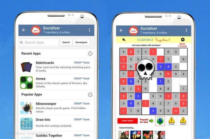 socializer main 2 720x477 - Relembre o MSN com o Socializer, novo app de mensagens da Samsung