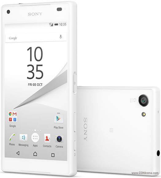 sony z5 compact1 - Sony lança Xperia Z5, Z5 Compact e Z5 Premium com tela 4K