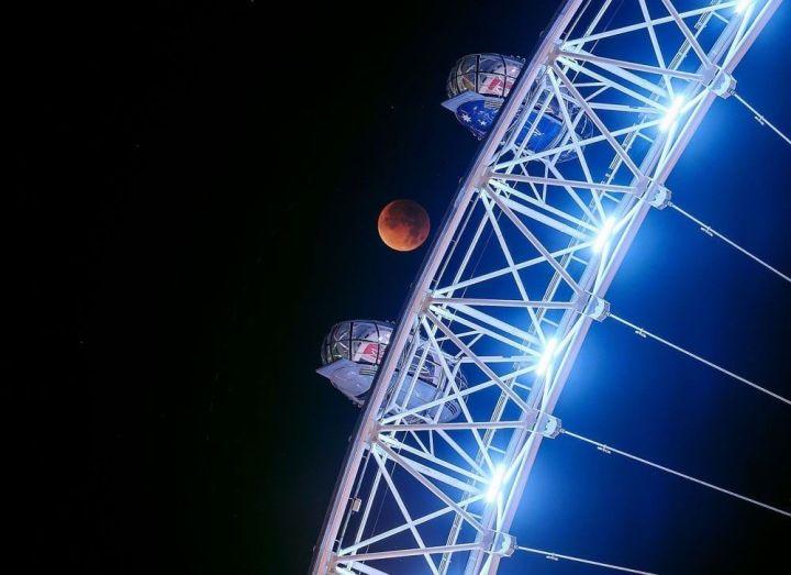 wheel 720x523 - Veja as fotos do eclipse total da superlua ao redor do mundo