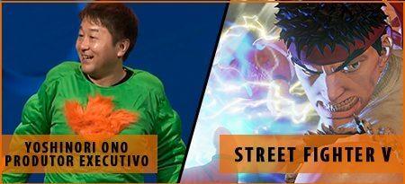 yoshinori ono - Brasil Game Show vem aí