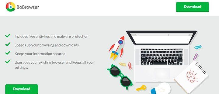 bobrowser 720x311 - Veja aplicativos que você NUNCA deve instalar no PC ou smartphone