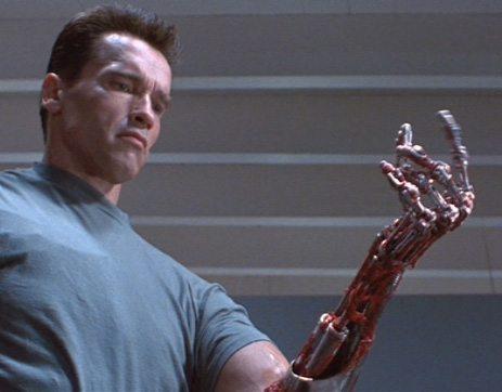 T-1000 Arnold Schwarzenegger