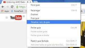 mute guia 300x170 - Google Chrome recebe atualização que permite silenciar abas específicas