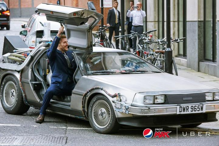 Back to the Future day Uber e Pepsi