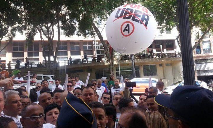 smt uber protesto 720x433 - Com decreto, prefeitura de São Paulo buscar regulamentar o Uber