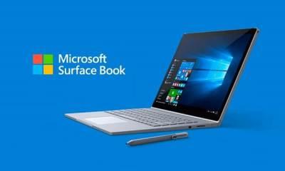 surface book - Microsoft lança Surface Book, duas vezes mais rápido que o MacBook Pro