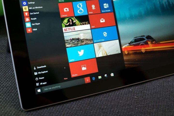 windows 10 start 720x480 - Como remover corretamente a pasta windows.old no Windows 10