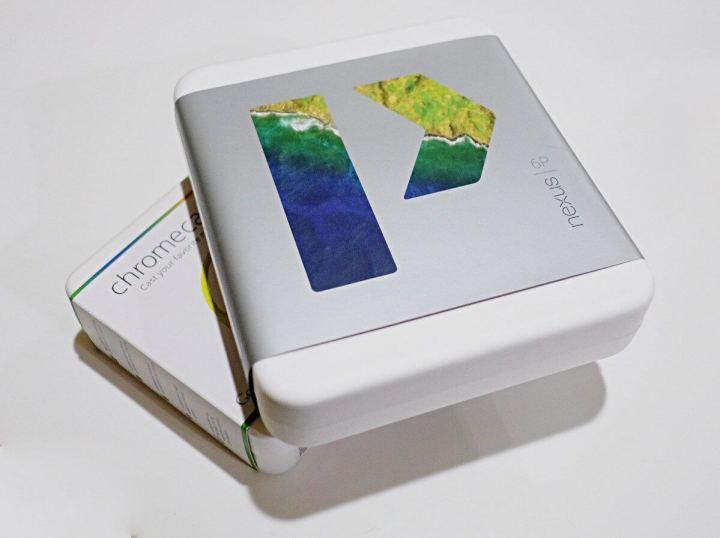 Caixa do Nexus 6P