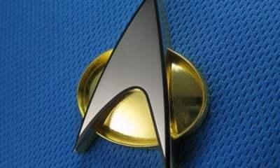 f3ba star trek tng communicator badge - Google construiu um protótipo de comunicador baseado em Star Trek
