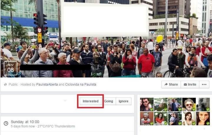 Novo botão do Facebook
