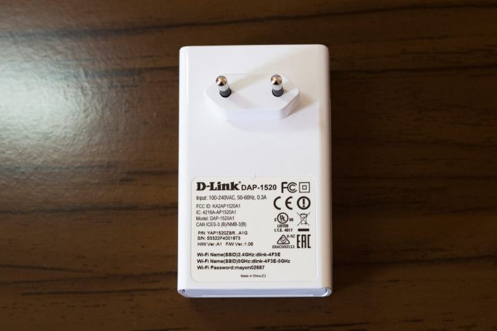 adaptador 0002 d link dap 1520 3 720x480 - Review D-Link DAP-1520 - Repetidor Wireless Dual Band