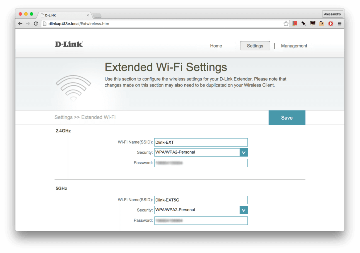 d link dap config2 720x507 - Review D-Link DAP-1520 - Repetidor Wireless Dual Band