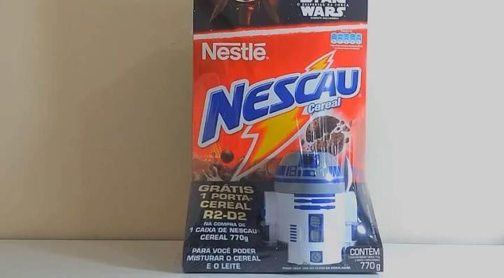 """nescau cereal brinde star wars vii nestle r2 d2 blog geek publicitario 720x397 - Definitivamente """"Star Wars: O Despertar da Força"""" é o filme de 2015"""