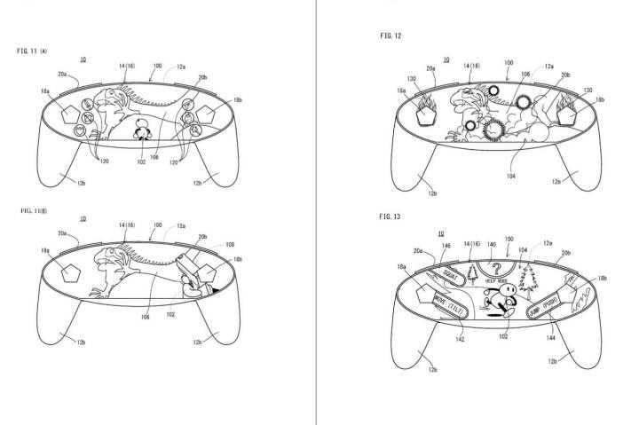 smt nintendo p2 720x479 - Nintendo registra patente de console com display livre