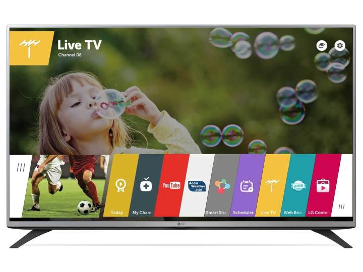 uf69 uf63 lf59 lf54 b high 01 inscreenlf59 lg 49lf5900 1 720x540 - Qual é o melhor sistema de Smart TV: Android TV, webOS ou Tizen?