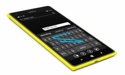 lumia word flow keyboard - Microsoft quer levar teclado virtual do Windows Phone para o iPhone
