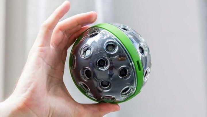 panono camera 720x409 - Panono: a câmera esférica que tira fotos ao ser jogada para o ar