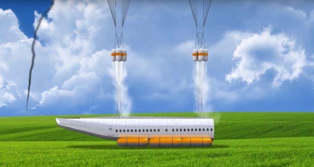 plane4 - Esse paraquedas para avião pode salvar muitas vidas