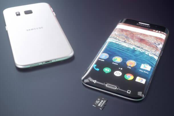 samsung s7 - Galaxy S7 da Samsung ganha arte conceito incrível