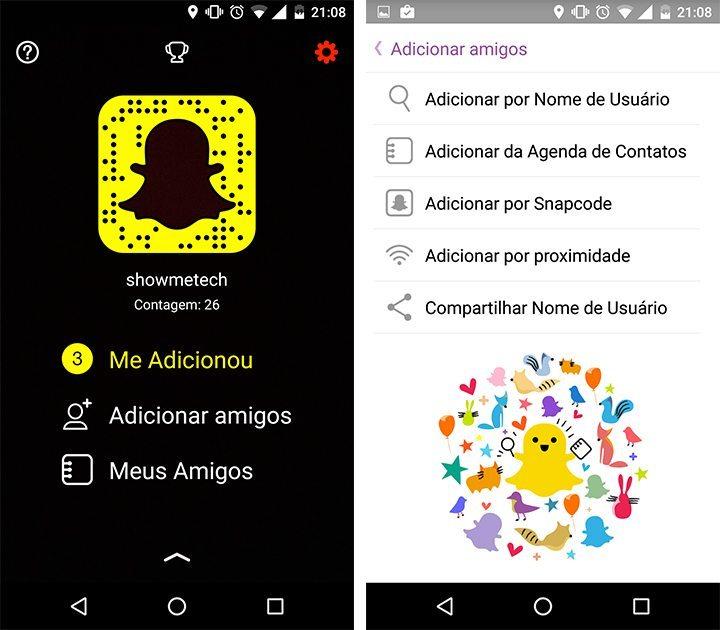 snapchat url usuario 720x630 - Snapchat agora possui links para perfis