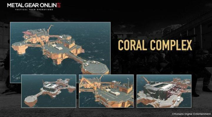 cloaked in silence coral complex 720x399 - Metal Gear Online recebe DLC: Cloaked in Silence