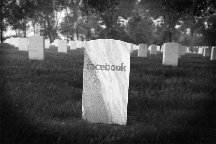 facebook dead 720x481 - Em 2098, o Facebook pode ter mais mortos do que vivos