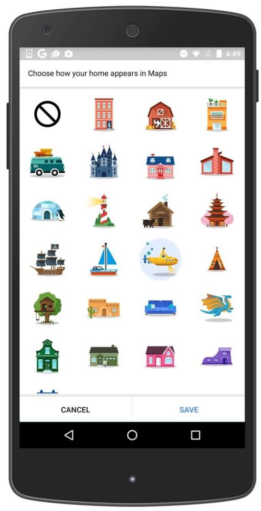 google maps-Stickers