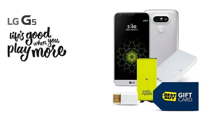 lg g5 pre venda best buy 720x395 - LG G5 já tem preço e data de comercialização definidos; Saiba quanto ele vai custar