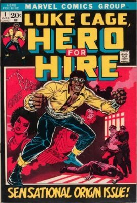 luke cage hero for hire 1 - Luke Cage: Netflix anuncia data de estréia da série