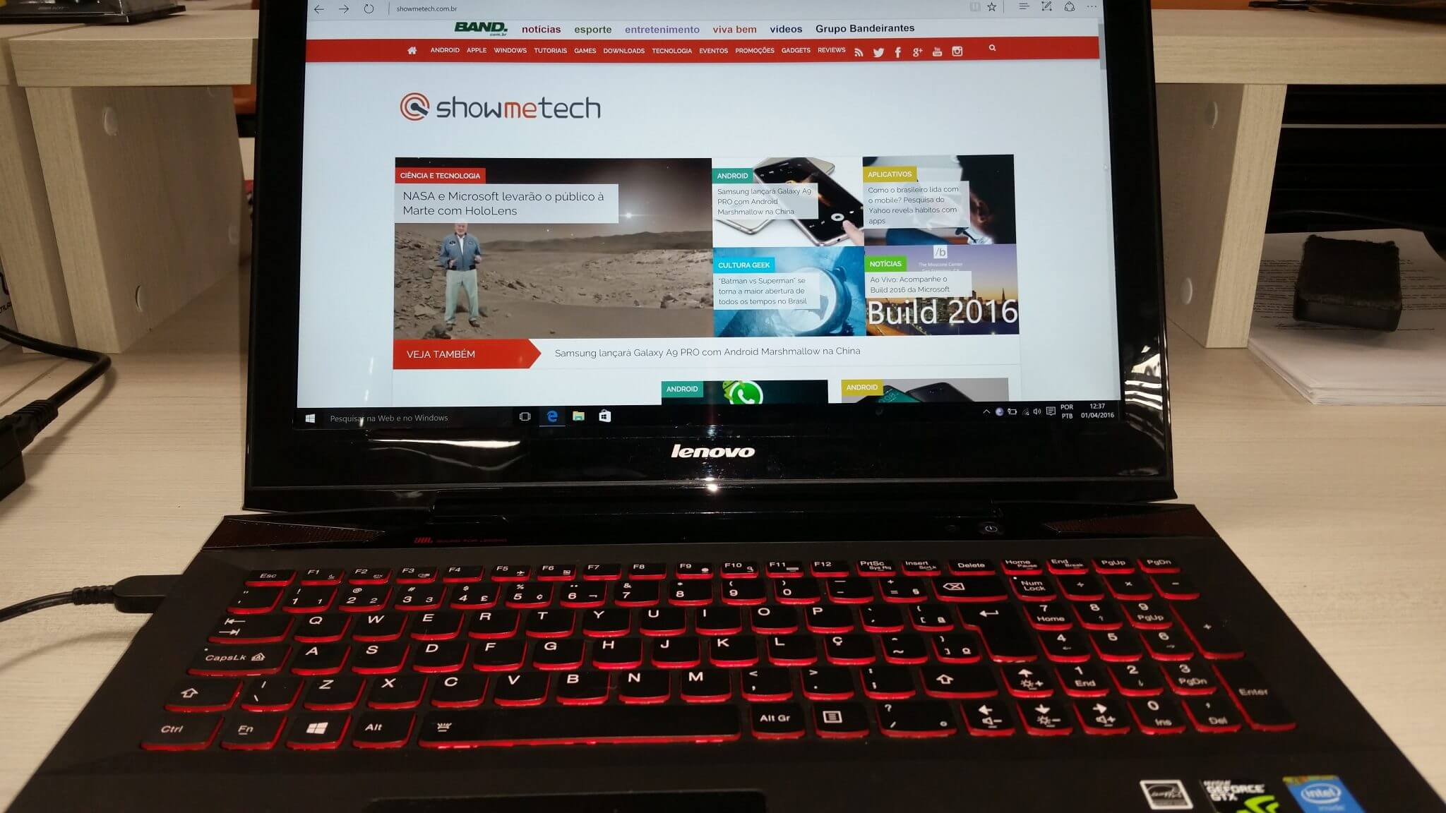 20160401 123650 - Review: Lenovo Y50 - Um notebook gamer de peso