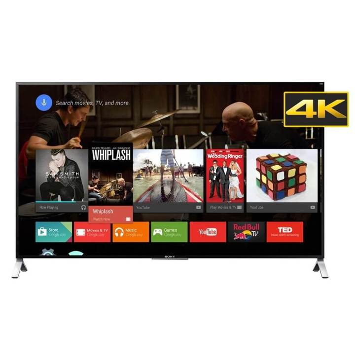 Android TV: interface bela e prática de usar.