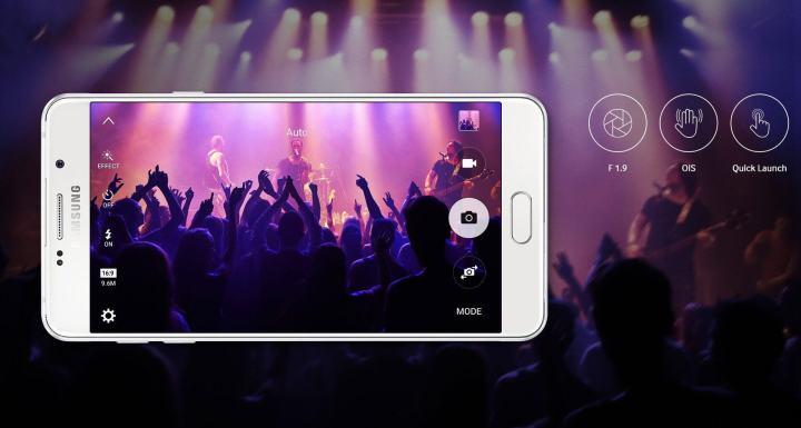 camera 720x385 - Linha Galaxy A 2016 aprimora design e desempenho para conquistar os brasileiros