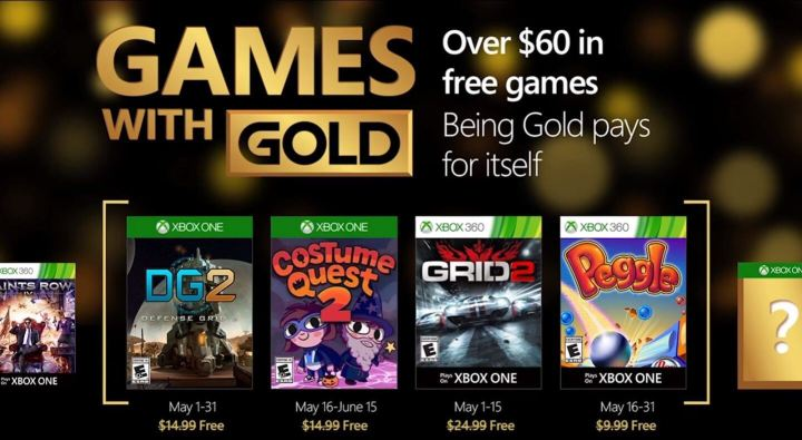 Games with Gold maio 2016