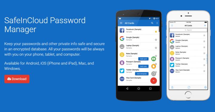 SafeInCloud PasswordManager