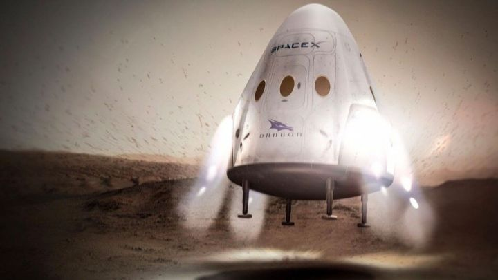 spacex missao marte 2018 720x405 - SpaceX pretende enviar missão a Marte em 2018