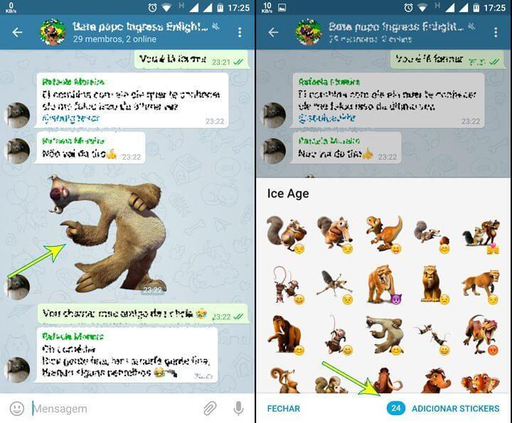 como add stickers telegram 720x595 - Tutorial: como criar e enviar seus próprios stickers no Telegram