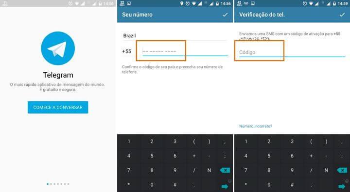 etapas cadastro telegram 720x396 - Telegram: aprenda a instalar, criar uma conta e usar o aplicativo