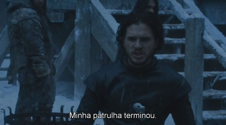 """jon snow saindo 720x397 - Análise do episódio 6×03 de Game of Thrones: """"Oathbreaker"""""""