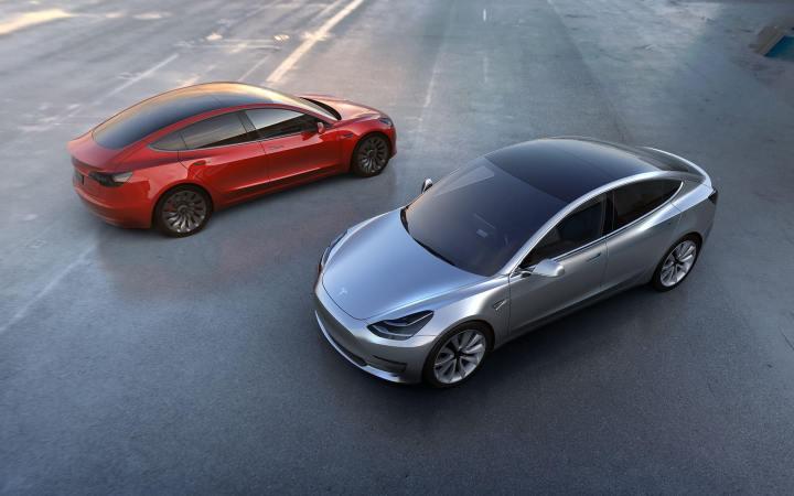 Este é um Tesla Model 3