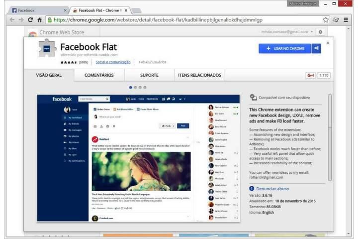 smt facebookflat page 720x480 - Com recurso polêmico, Facebook Flat retorna com novas funcionalidades